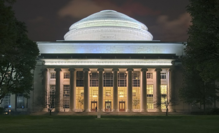 MIT at night