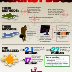 Infographic: The Battle Against DDoS Attacks