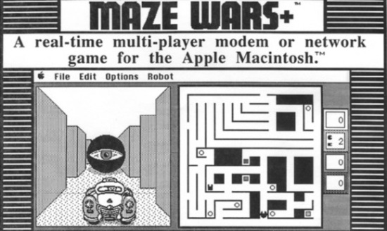 Maze Wars Video Game
