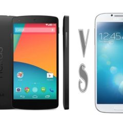 Nexus 5 vs Samsung Galaxy S4
