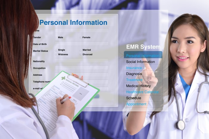 EHR - Electronic Healthcare Records